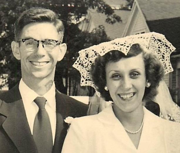 Alma Jo and Buddy in 1952