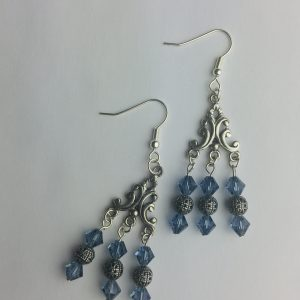 Bluey Chandelier Earrings